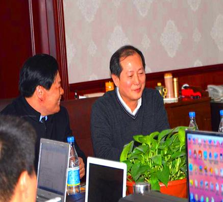热烈欢迎合作伙伴北京奥得赛莅临公司指导工作