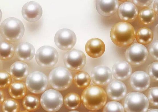 加过增白剂的珍珠